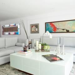 PB  La Castellana: Salas / recibidores de estilo  por Pic & Deco