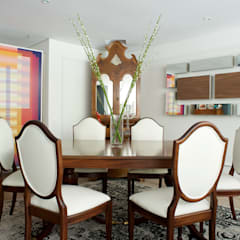 PB  La Castellana: Comedores de estilo  por Pic & Deco
