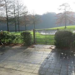Bouveloo Côrture omheining - met bijpassende poort:  Tuin door Bouveloo Côrture
