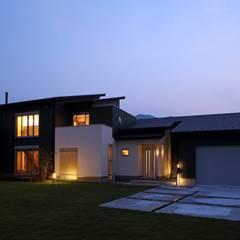 منزل خشبي تنفيذ やまぐち建築設計室