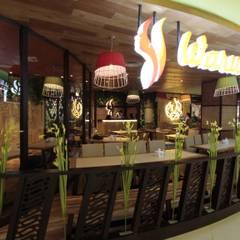 Front view:  Restoran by Kottagaris interior design consultant