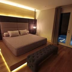Ms San San private bedroom: Kamar Tidur oleh Kottagaris interior design consultant,
