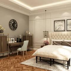 Kottagaris interior design consultantが手掛けた寝室,