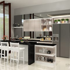 Araya, Malang:  Unit dapur by AIRE INTERIOR