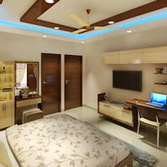 اتاق خواب by Srijan Homes