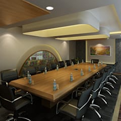 Hotel - Restaurant, Banquet and Convention Center:  Conference Centres by Srijan Homes