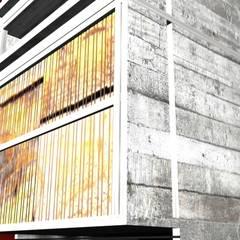 edificio de vivienda multifamiliar en c.a.b.a.: Casas multifamiliares de estilo  por 253 ARQUITECTURA