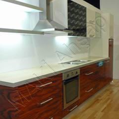 Maki Ahşap ve Metal Mobilya San. ve Tic. Ltd. Şti. – Mutfak - Kitchen - Küchen:  tarz Mutfak üniteleri