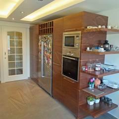 Módulos de cocina de estilo  de Maki Ahşap ve Metal Mobilya San. ve Tic. Ltd. Şti.