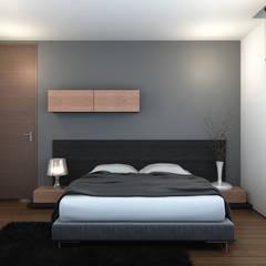 Bedroom by INK DESIGN STUDIO