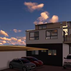 Proyecto Vivienda Multifamiliar: Casas multifamiliares de estilo  por Lacerra Arquitectura