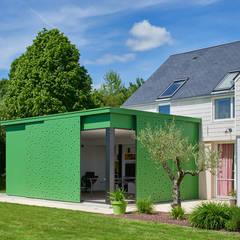 Extension maison : Jardin d'hiver de style  par Camélia Alex-Letenneur Architecture Design Paysage