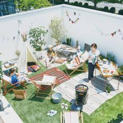 Terrace by オレンジハウス, Eclectic