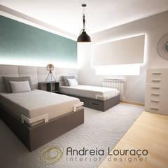 industrial Nursery/kid's room by Andreia Louraço - Designer de Interiores (Contacto: atelier.andreialouraco@gmail.com)