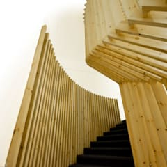 Staircase Design:  Office buildings by CUBEArchitects