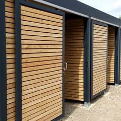 Garajes abiertos de estilo  por Carport-Schmiede GmbH & Co. KG