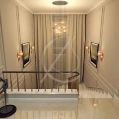 Modern Classic Villa Interior Design:  Corridor & hallway by Comelite Architecture, Structure and Interior Design , Modern
