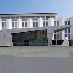 Auditorium e Residenza: Centri congressi in stile  di Arch&Craft architects