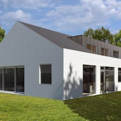 Herontwerp Bungalow:  Bungalow door MOTUS architects