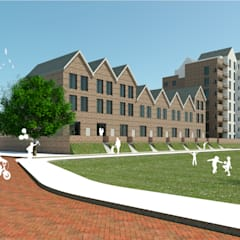 Woningbouw compex:  Meergezinswoning door MOTUS architects