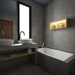 Bathroom by StudioExNovo