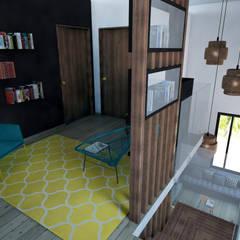 Pasillos y vestíbulos de estilo  por StudioExNovo