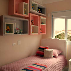 Girls Bedroom by Moussi Arquitetura
