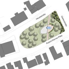 Entwurfsplanung:  Veranstaltungsorte von Bender Freiraumplanung