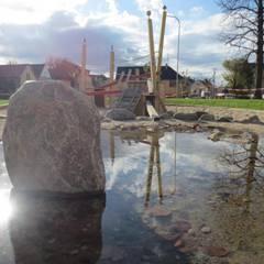 Stimmungsbild Brunnen:  Veranstaltungsorte von Bender Freiraumplanung
