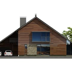 منزل خشبي تنفيذ Plug Studio