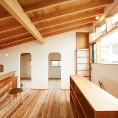 長崎 大村 /  焼杉の家: HAGが手掛けた子供部屋です。