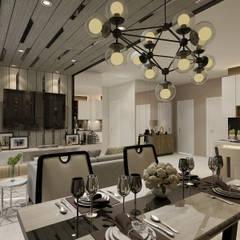 Design concept part 1: Venue oleh Kottagaris interior design consultant, Modern