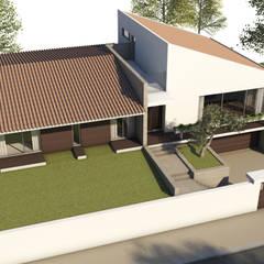 Moradia Unifamiliar: Moradias  por comSequência - Arquitectura & Design