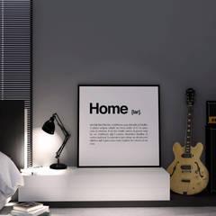 Dormitório JB: Quartos  por PIZO Arquitetura e Design