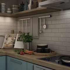 مطبخ تنفيذ Студия интерьера go design