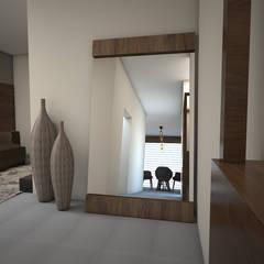 Pasillo: Pasillos y recibidores de estilo  por BAUMHAUS