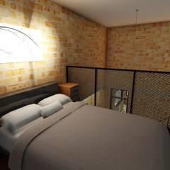 غرفة نوم تنفيذ Richard Aléxis Silva