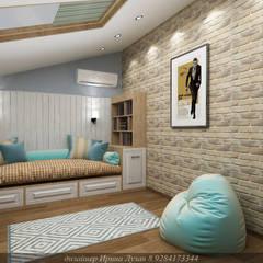 Teen bedroom by Творческая мастерская Лузан Ирины,