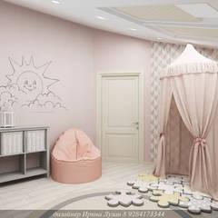 Творческая мастерская Лузан Ириныが手掛けた赤ちゃん部屋