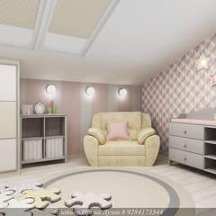 Скандинавский стиль: комнаты для новорожденных в . Автор – Творческая мастерская Лузан Ирины
