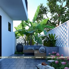 Villas by UK DESIGN STUDIO - KIẾN TRÚC UK, Modern