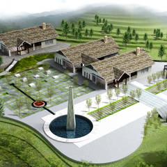 Casas multifamiliares de estilo  por Công ty cổ phần Kiến trúc và xây dựng AST