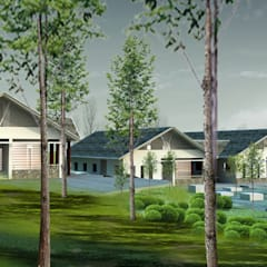 Meergezinswoning door Công ty cổ phần Kiến trúc và xây dựng AST