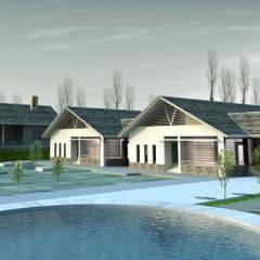 Multi-Family house by Công ty cổ phần Kiến trúc và xây dựng AST