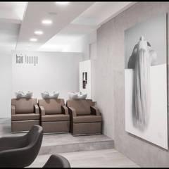 Hairlounge Eggenfelden / Ein echtes Schmuckstück:  Geschäftsräume & Stores von Licht-Design Skapetze GmbH & Co. KG