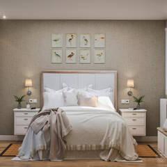 غرفة نوم تنفيذ Phosmou Estudio, S.L.
