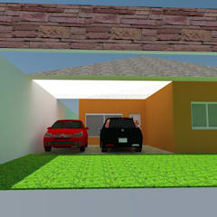 Garagem: Garagens e edículas clássicas por Thayse Araújo Arquitetura e Interiores