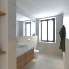 mediterranean Bathroom by Grupo Norma