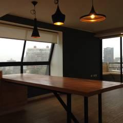 REMODELACION DEPTO PEÑA Y LILLO: Comedores de estilo  por [ER+] Arquitectura y Construcción,