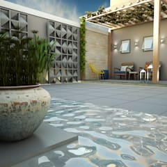Treez Arquitetura+Engenhariaが手掛けた池